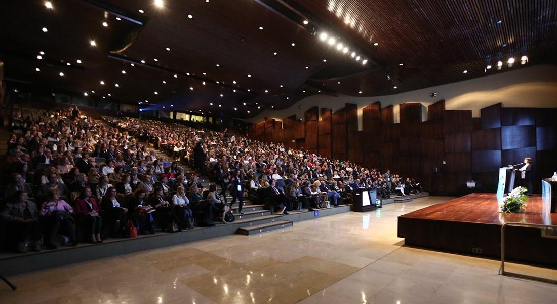 Sala plenaria durante el Congreso SEME 2020